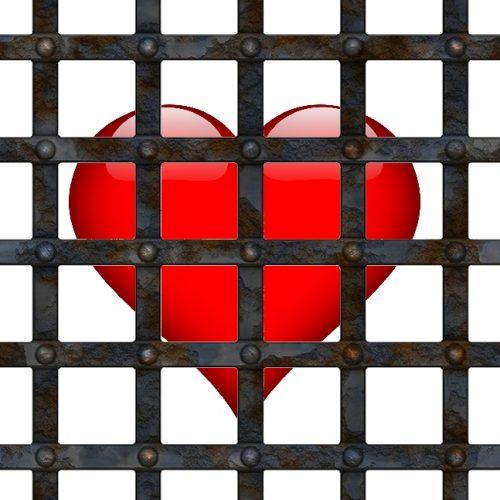 Herz hinter Gittern